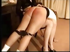 Spanked for...