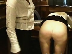 Plump ass Caning