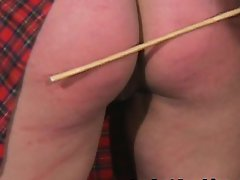 Plump Thighs Caned