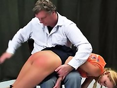 Spanked in High...