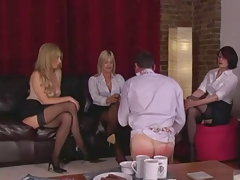 Three Dommes in...